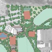 Revised Bishop Park Master Plan Aerial Rendering