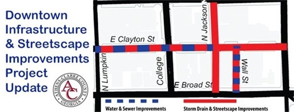 Downtown Infrastructure & Streetscape Project Update