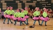 Classic City Majorettes performing