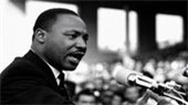 Photo of Martin Luther King, Jr. speaking