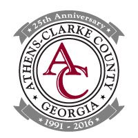 Athens-Clarke County 25th Anniversary Logo