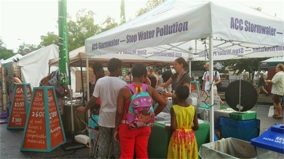 ACC Stormwater at AthFest 2015.