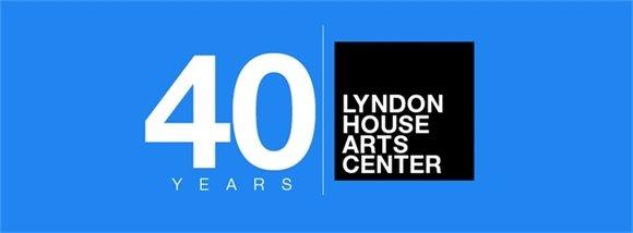 Lyndon House 40 years logo