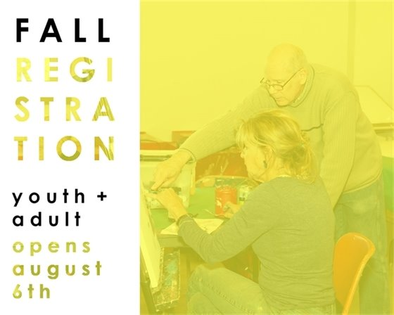 Fall Registration for youth and adults begins August 6th