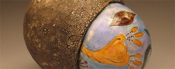 Jorie Berman ceramic piece