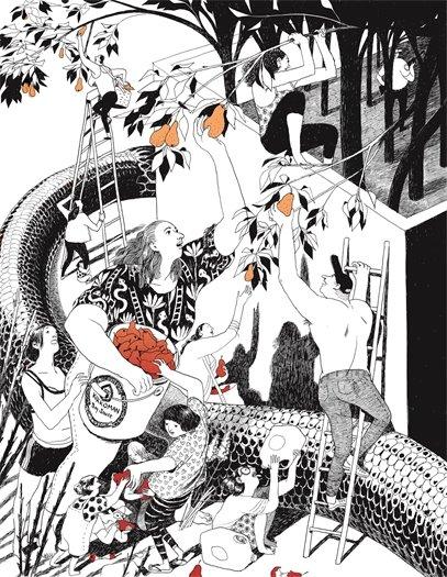Snakes & Pears by Eleanor Davis