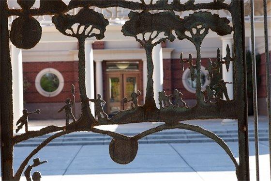 Harold Rittenberry sculpture garden