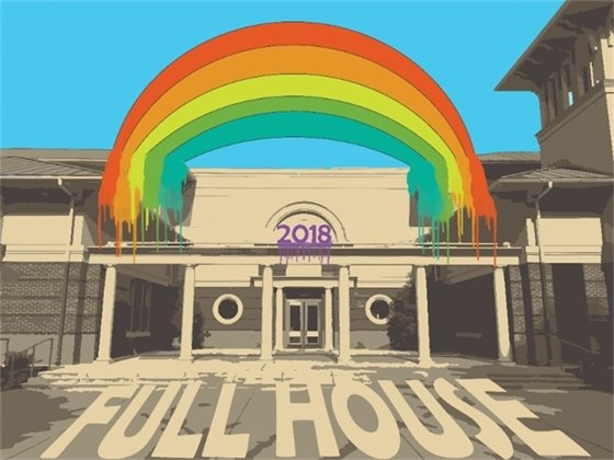 Full House exhibit logo