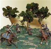 warrior figurines