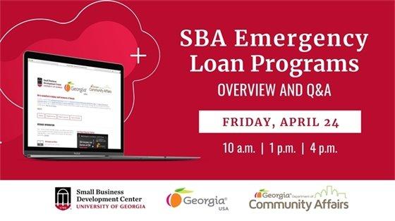 SBDC Webinars - April 24