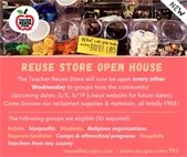 Reuse Store Open House