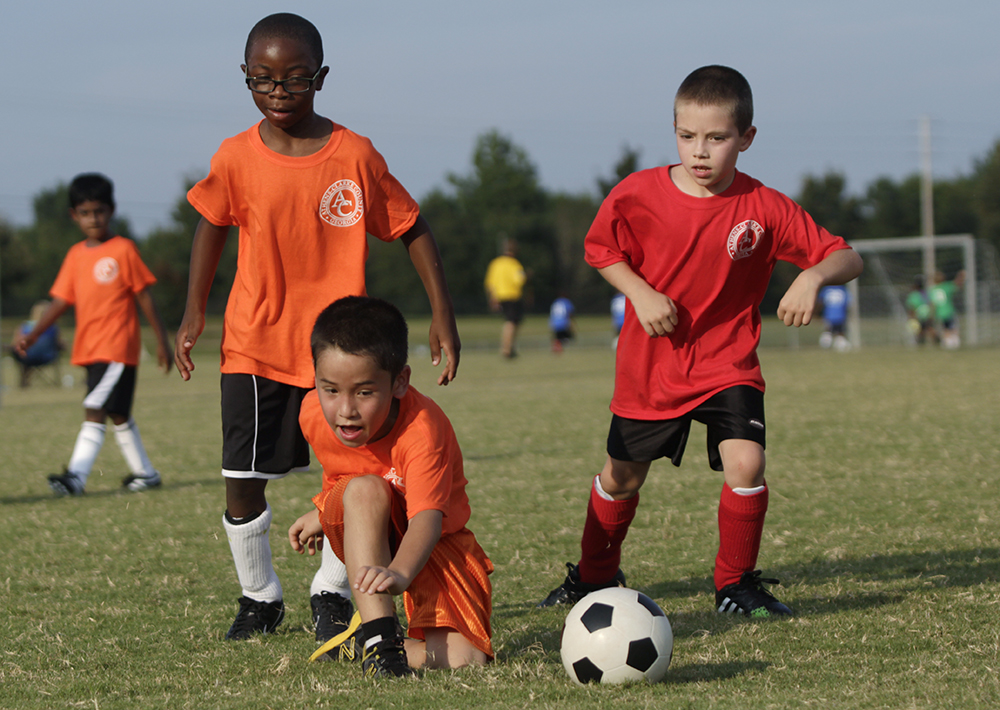 U8 Youth soccer photo 2