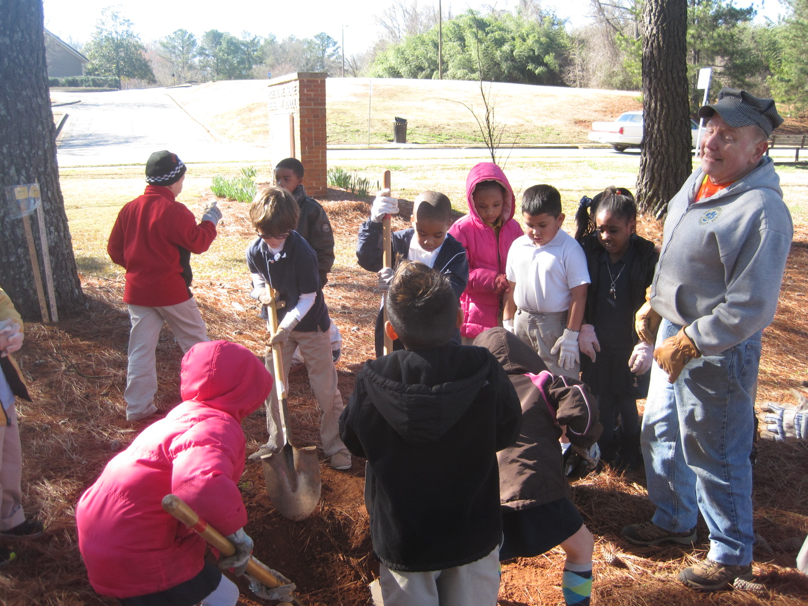 Oglethorpe Road Arbor Day 13