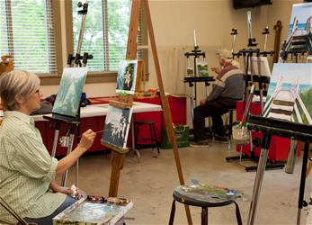 Adult Oil Painting Workshop-1