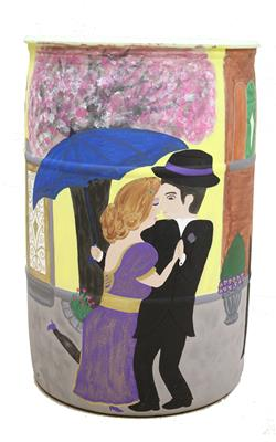 Valerie Button - Untitled Barrel (Couple)