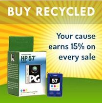 planet green buy recycled button