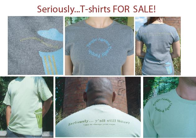 t-shirts for sale (real people)