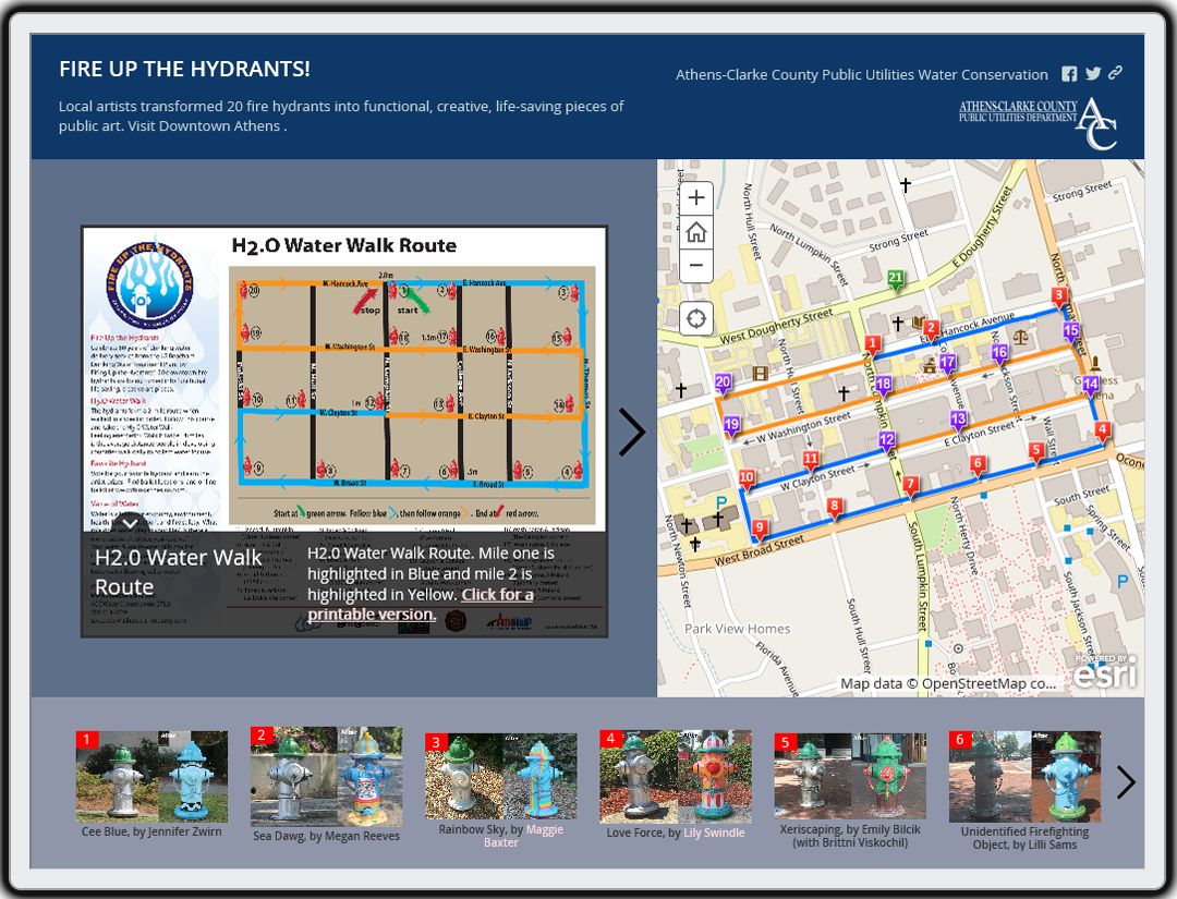 Fire Up the Hydrants! Story Map