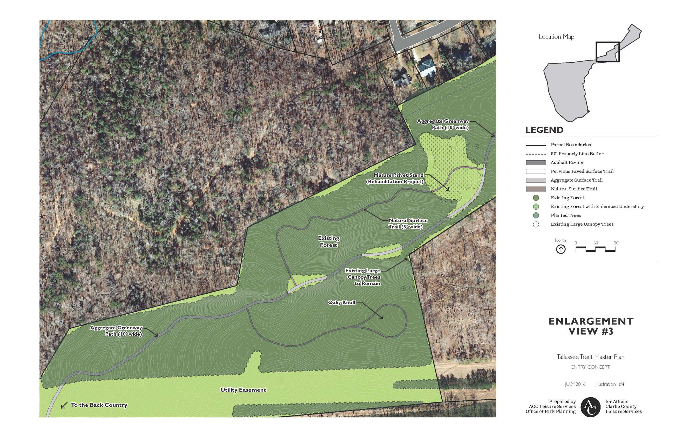 Tallassee Forest Master Plan Enlargement 3
