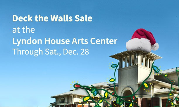 Deck the Walls Art Sale at the Lyndon House Arts Center