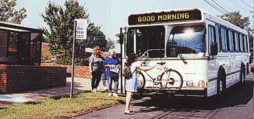 bus and bike