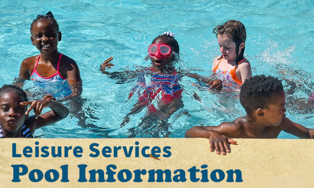 Bishop, Lay, and Memorial Park pool information
