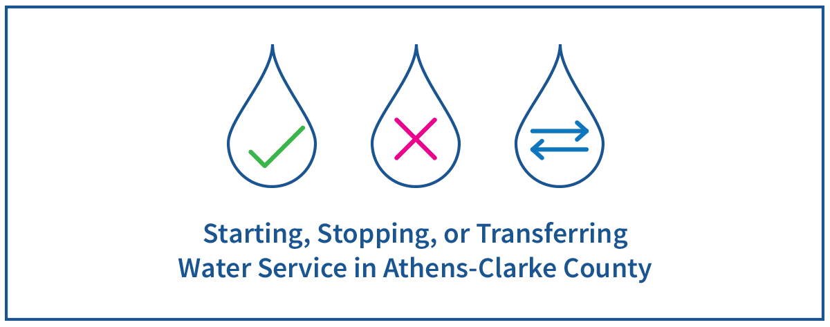 Starting, Stopping, or Transferring Water Service
