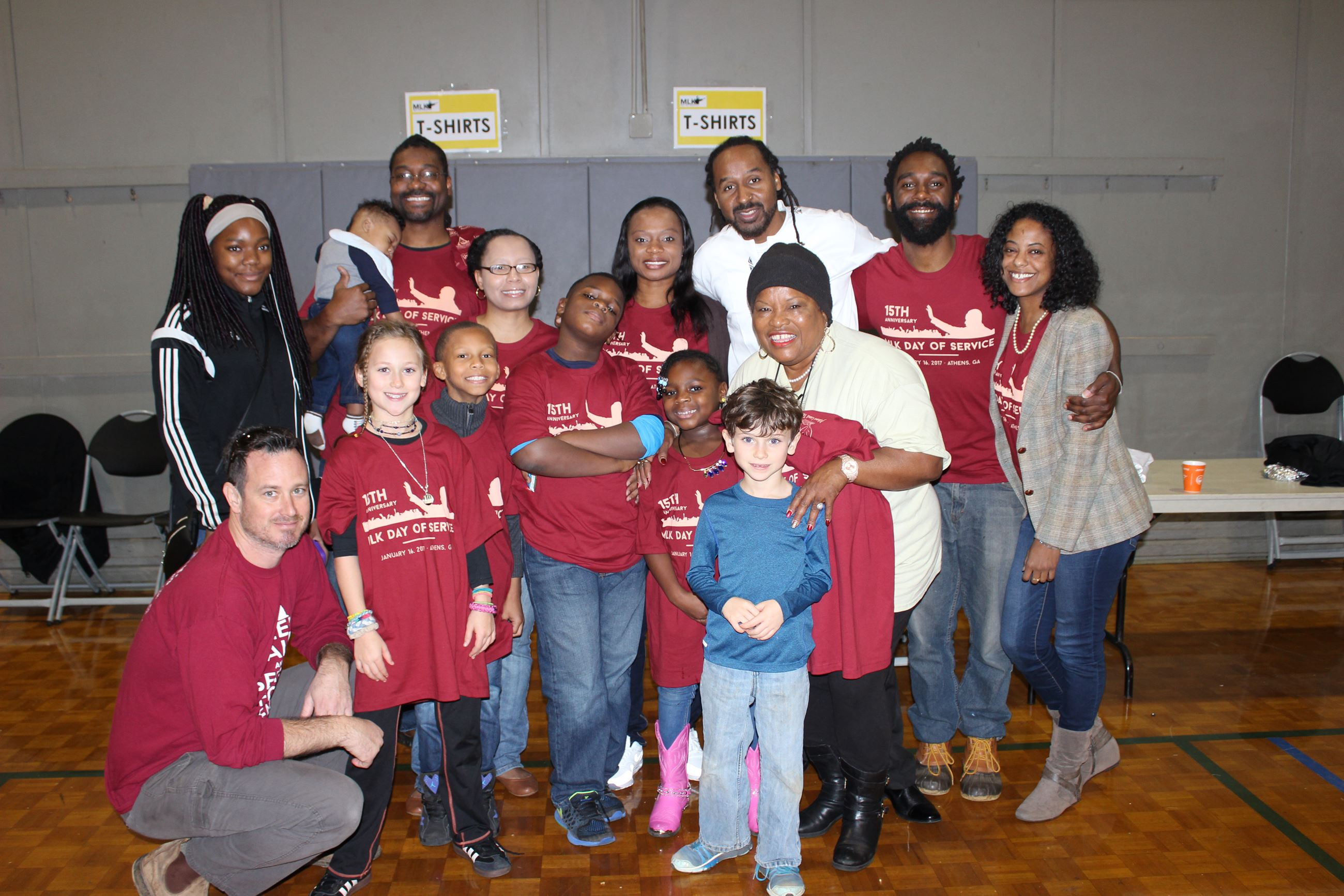MLK Day Volunteers