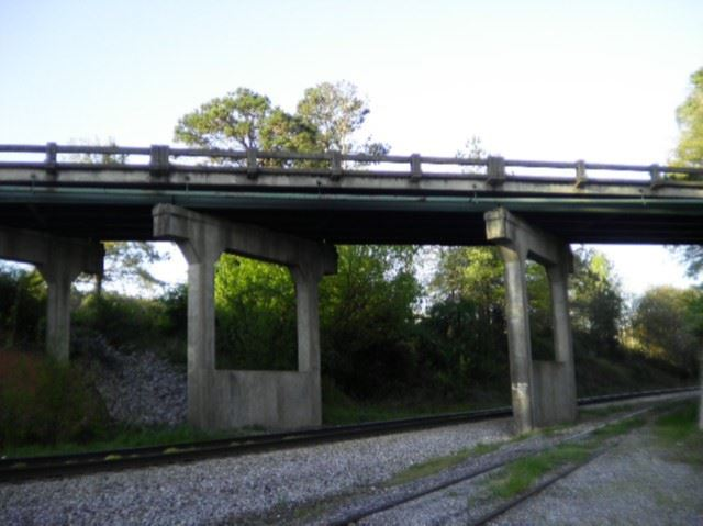 Tallassee Road from Tracks