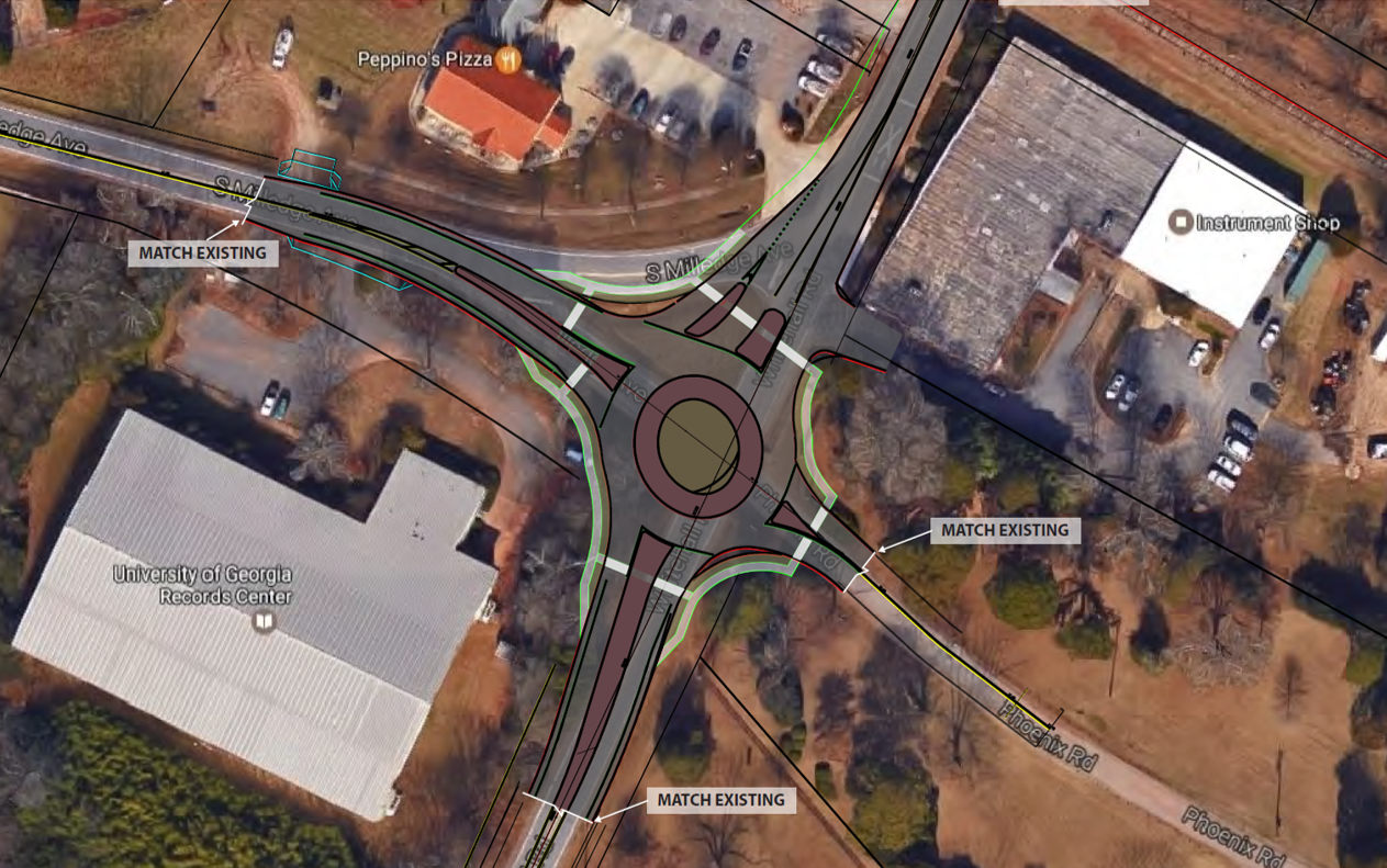 Whitehall and S. Milledge Concept
