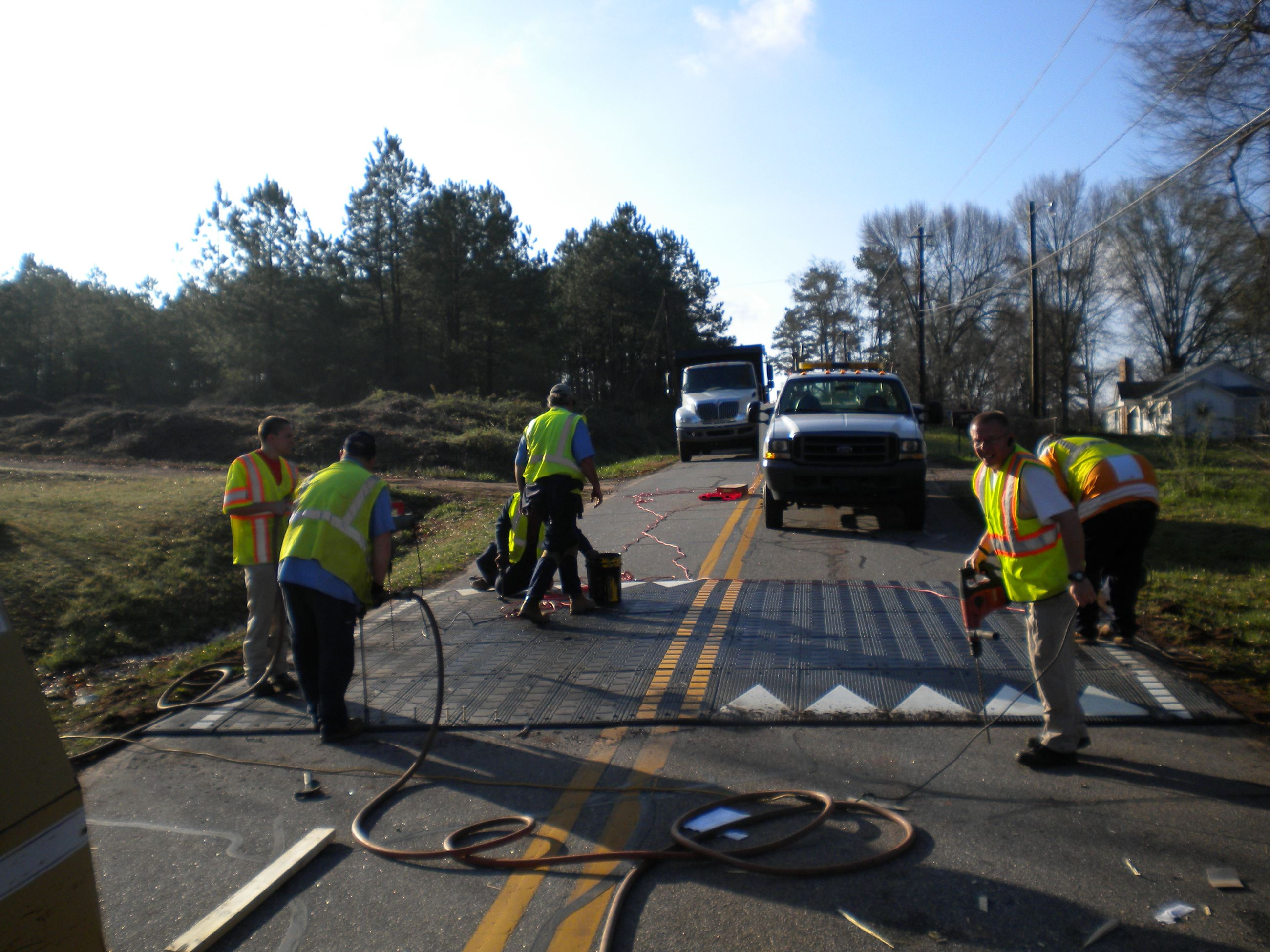 TRCalhoun Dr Speed Hump Project 6