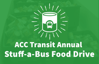 ACC Transit Annual Food Drive