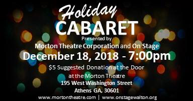 MTC holiday cabaret