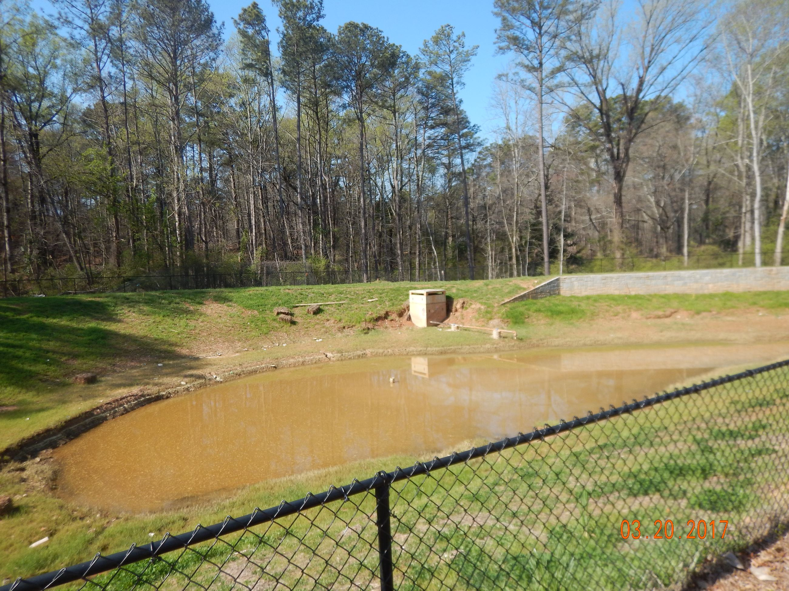 Columbia Brookside Detention Basin