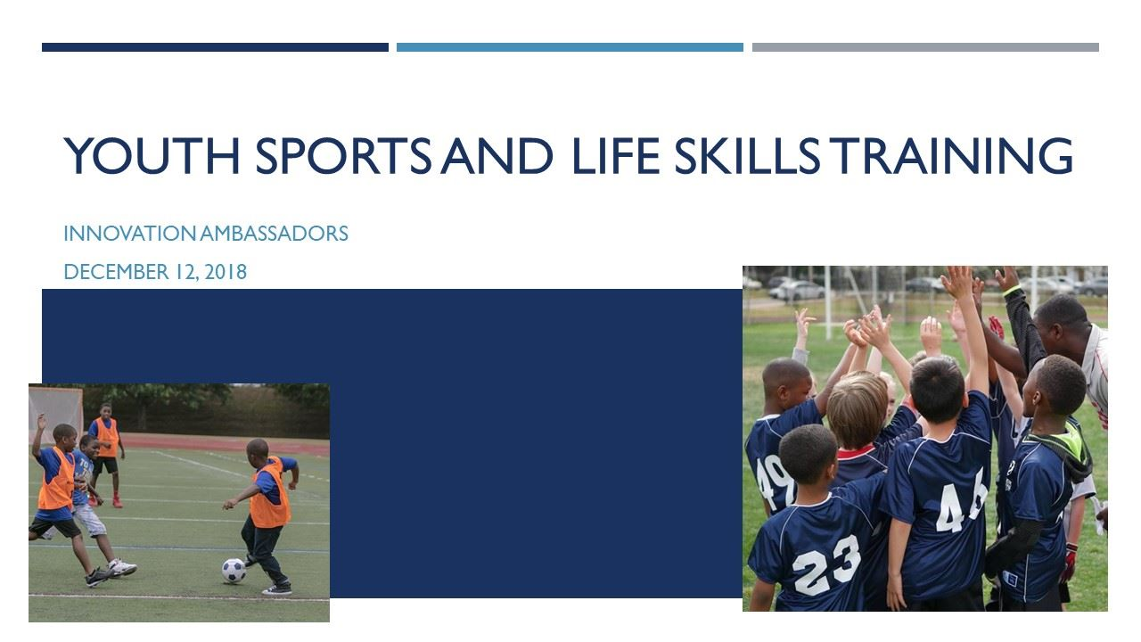 YOUTH SPORTS AND LIFE SKILLS training