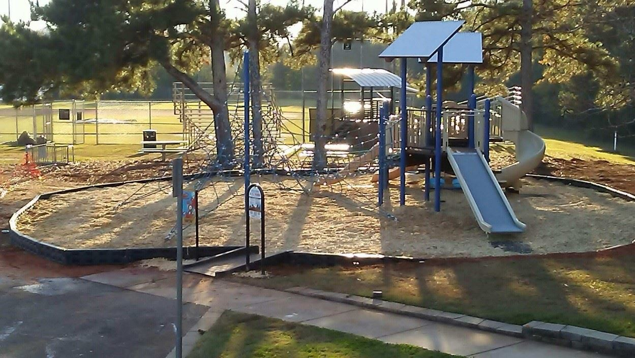 Project 16, sub-project 11 - playground at satterfield park