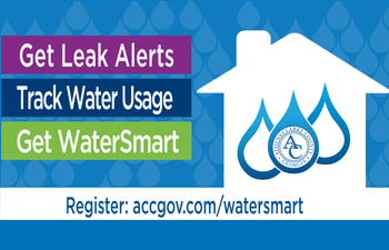 Get leak alerts and track water usage with WaterSmart