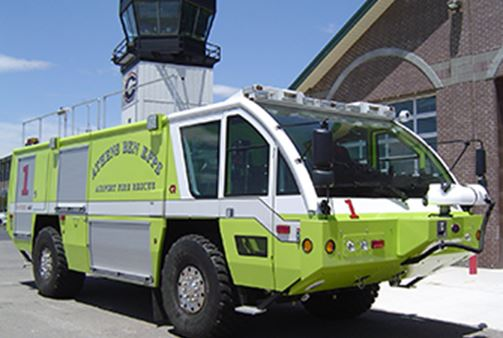 Airport Fire Rescue Vehicle