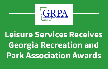 ACC Leisure Services Department Receives Georgia Recreation and Park Association Awards