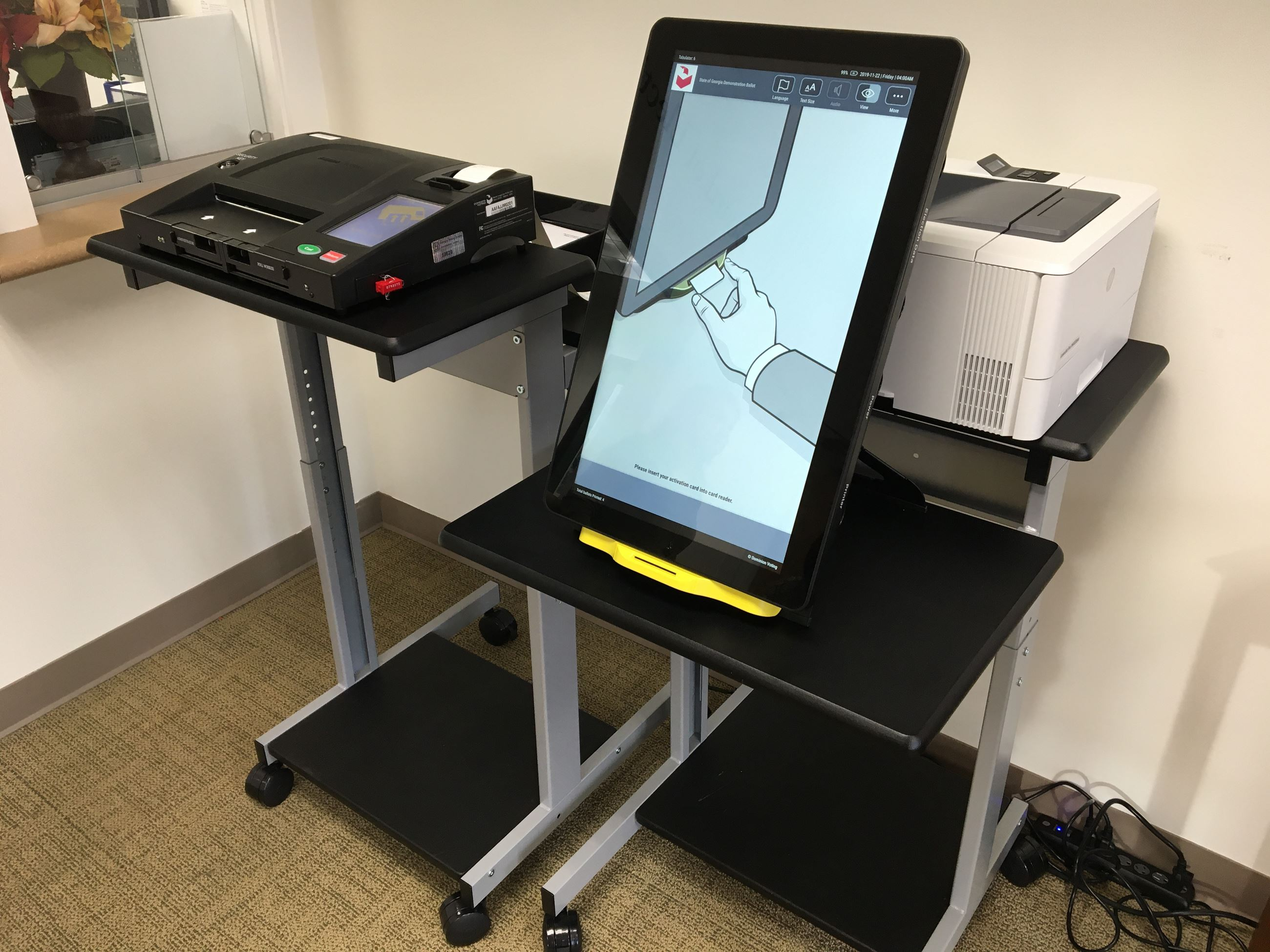 New voting equipment demonstration units available for public use