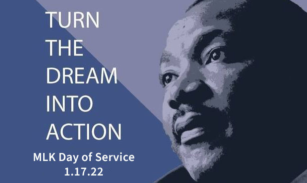 Annual MLK Day of Service flyer
