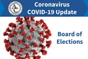 Coronavirus Updates - Board of Elections