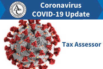Coronavirus COVID-19 - Tax Assessors Office Update