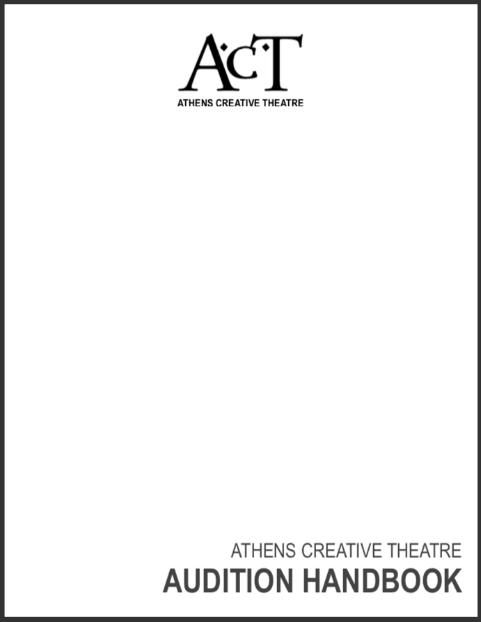 ACT Audition Handbook - Printer Friendly