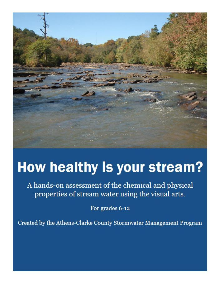 STEAM chemical and physical water quality cover sheet