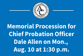 Memorial Procession for Dale Allen on Mon., Aug. 10 at 1:30 p.m.