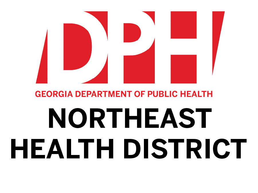 GA Department of Public Health Northeast Health District Logo