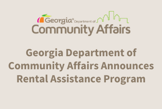 Georgia Department of Community Affairs Announces Rental Assistance Program