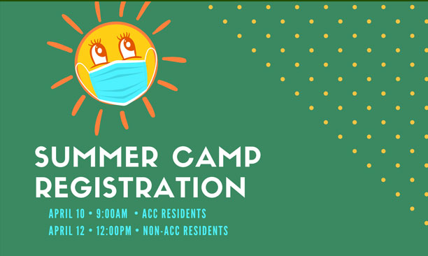 Leisure Services Summer Camp Registration begins April 10