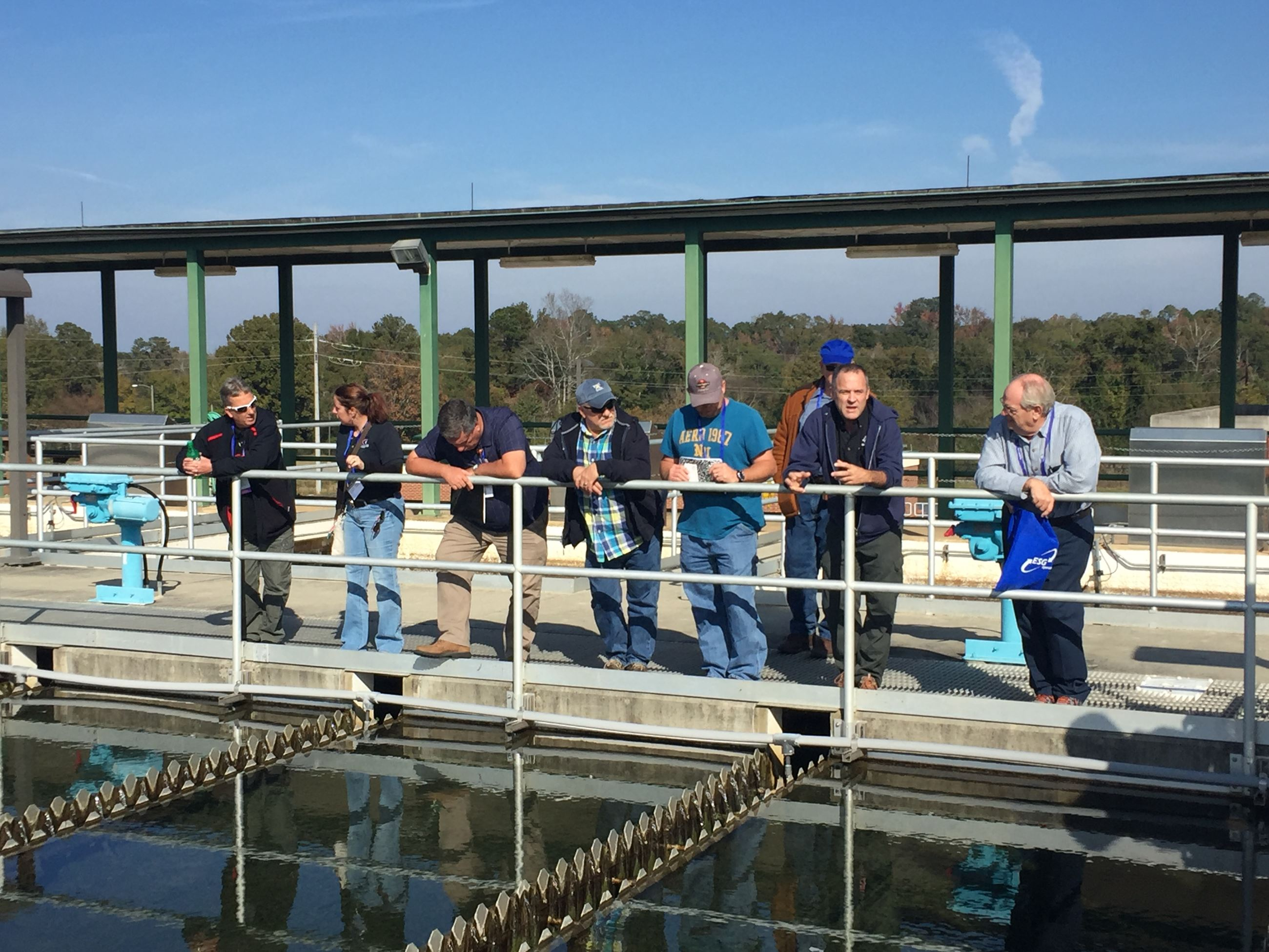 Tour of the Drinking Water Treatment Plant
